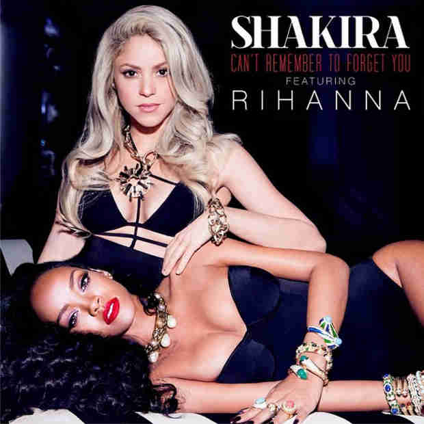 Shakira and Rihanna Look Stunning in New Single Artwork! (PHOTO)