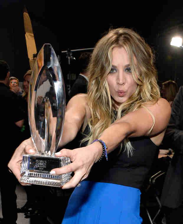 People's Choice Awards 2014: Kaley Cuoco Wins Favorite Comedic TV Actress