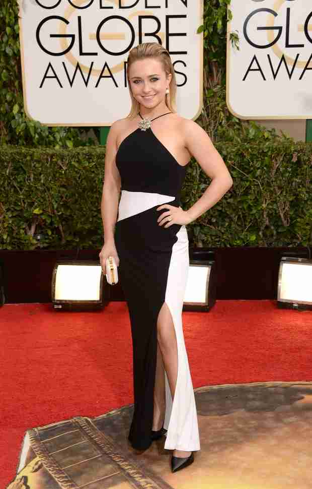 Hayden Panettiere Dishes on Wedding Plans at 2014 Golden Globes (PHOTO)