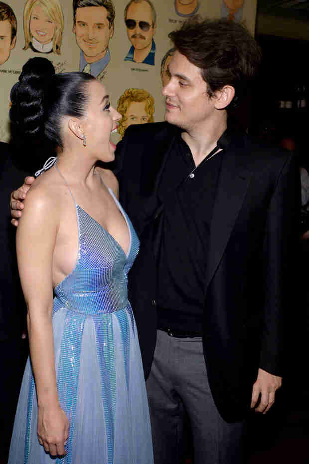 John Mayer Bonds With Katy Perry's Family After The Grammys —And Takes Photos!