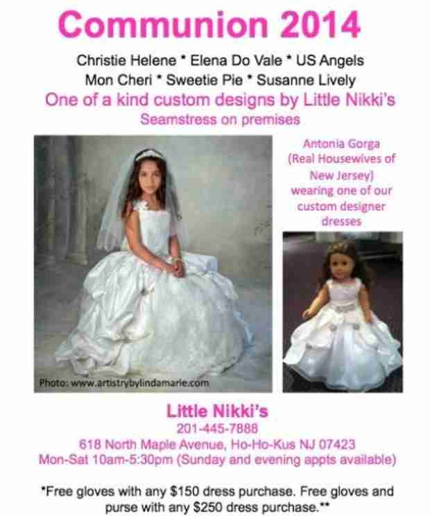 See Melissa Gorga's Daughter Antonia in Her Communion Dress (PHOTO)