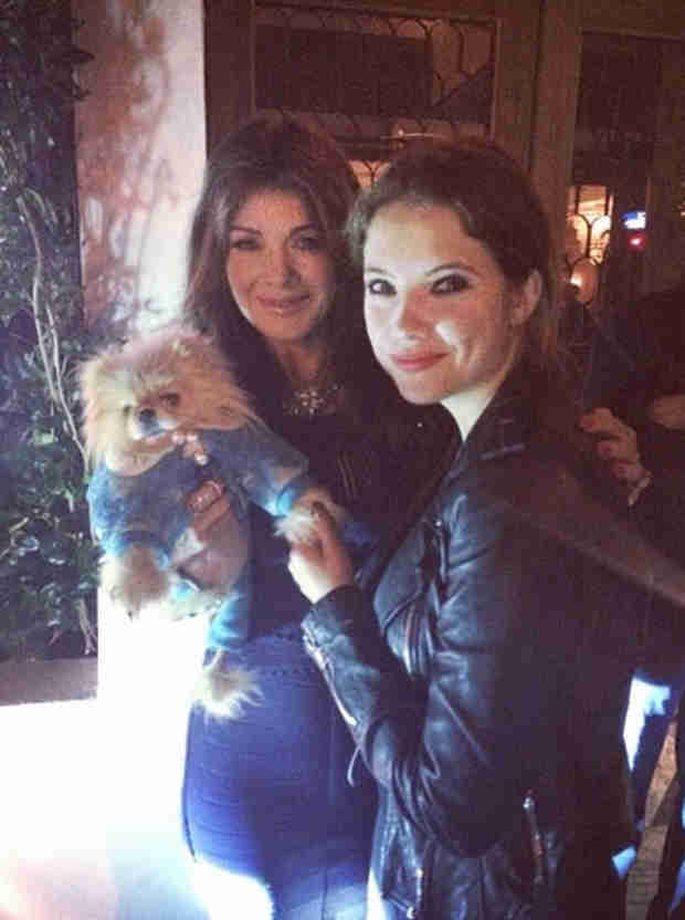 Ashley Benson Gets Giggy With It With Lisa Vanderpump (PHOTO)