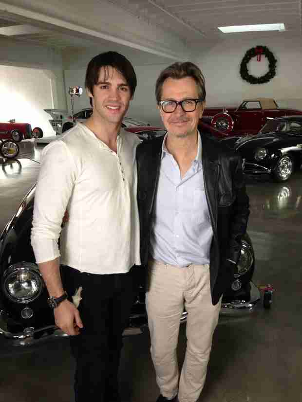 Vampire Diaries Star Steven R. McQueen Meets Sirius Black — And It's As Epic As It Sounds (PHOTO)
