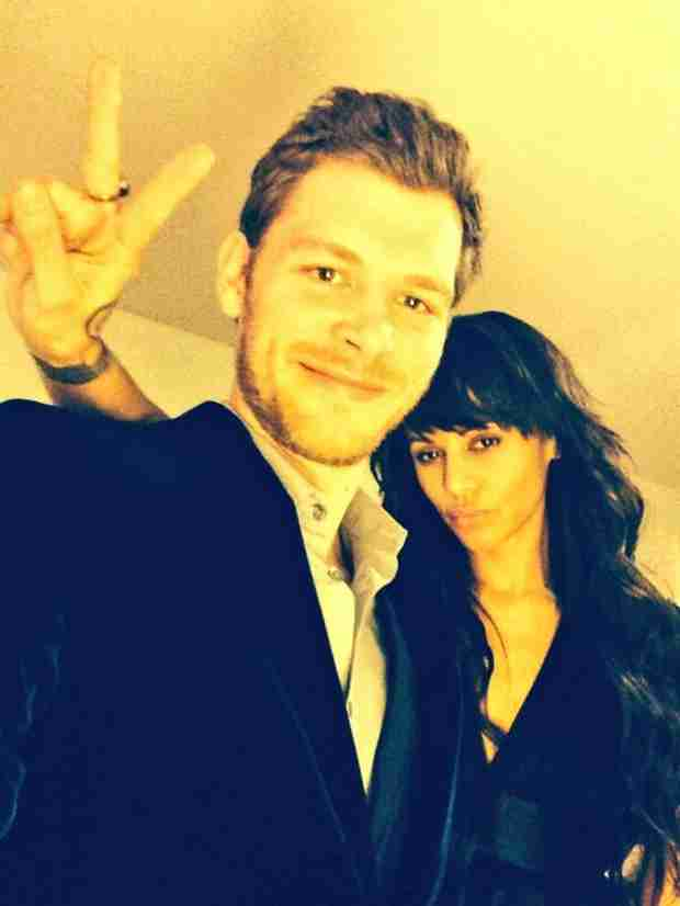 Joseph Morgan and Persia White Ring in 2014 With Adorable Selfie (PHOTO)
