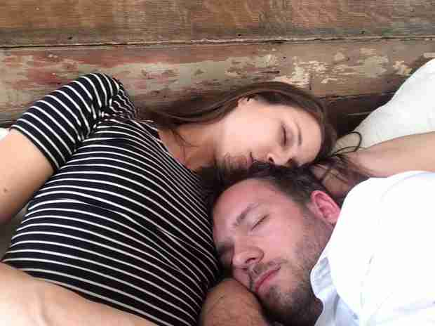 Troian Bellisario and Boyfriend Patrick J. Adams Snuggle in Adorable Selfie (PHOTO)