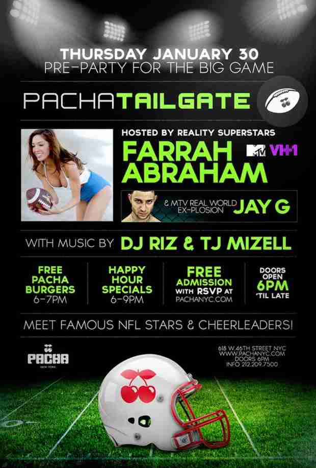 Farrah Abraham Reveals Her Super Bowl Plans — And You're Invited!