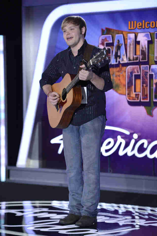 "Watch Casey Thrasher Sing ""Believe"" on American Idol 2014, Salt Lake City Auditions"