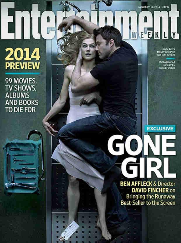 Ben Affleck Embraces Rosamund Pike in Gone Girl Cover