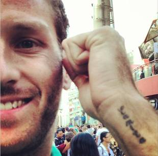 What Does Juan Pablo Galavis's Tattoo Say?
