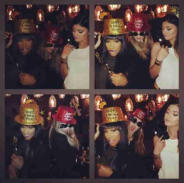 Who Did Khloe Kardashian Spend New Year's Eve With?