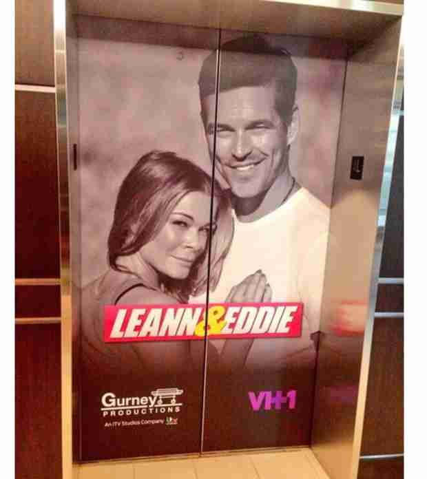 LeAnn and Eddie — See the First Promotional Poster For Their Reality Show (PHOTO)
