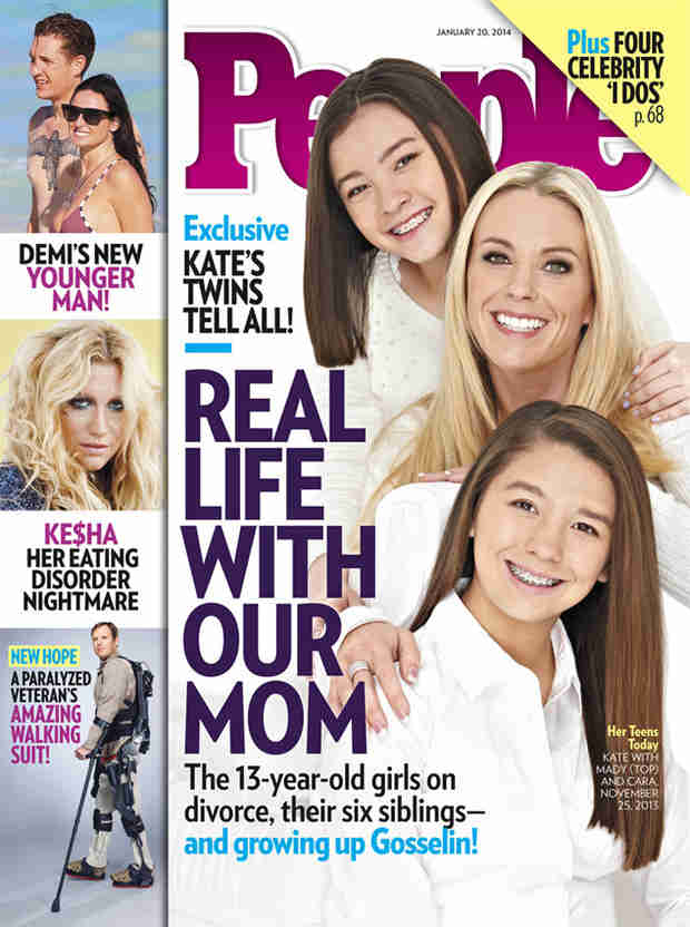 "Kate Gosselin's Twins Mady and Cara: ""Here's the Big News: We're Not Messed Up"" (PHOTO)"