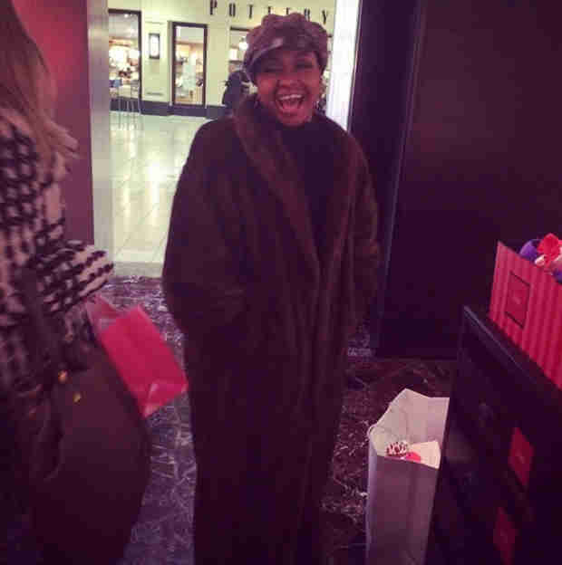 Phaedra Parks Rocks Full-Length Fur Coat — Hot or Just Wrong? (PHOTO)