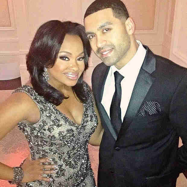 Phaedra Parks and Apollo Nida Celebrate a Fancy Night Out (PHOTO)