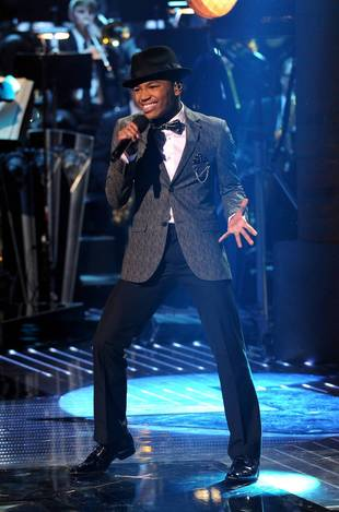Which X Factor Contestant Had to Sing His Way Into a Grammy Party? Exclusive
