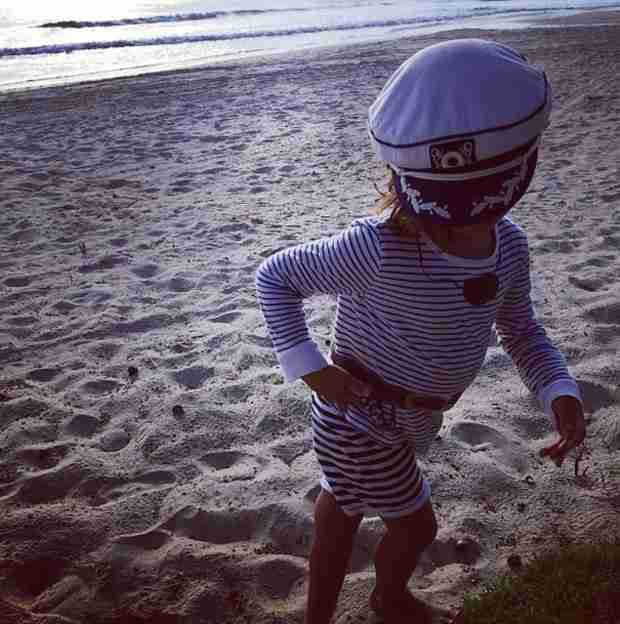 Kourtney Kardashian Shares Beach Pic of Mason — See How Much He's Grown!