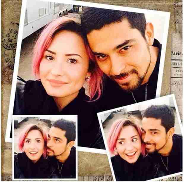 Demi Lovato Shares Intimate Pic With Rumored Boyfriend Wilmer Valderrama (PHOTO)