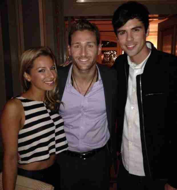 Glee Actress Meets 2014 Bachelor Juan Pablo Galavis (PHOTO)