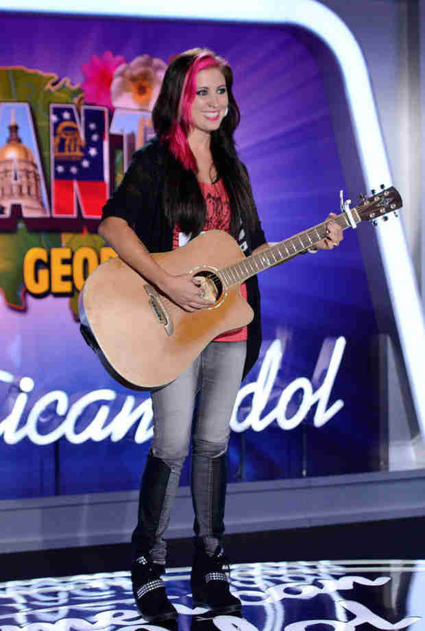 """Watch Jess Meuse Sing """"Blue-Eyed Lie"""" in American Idol 2014, Atlanta Auditions"""