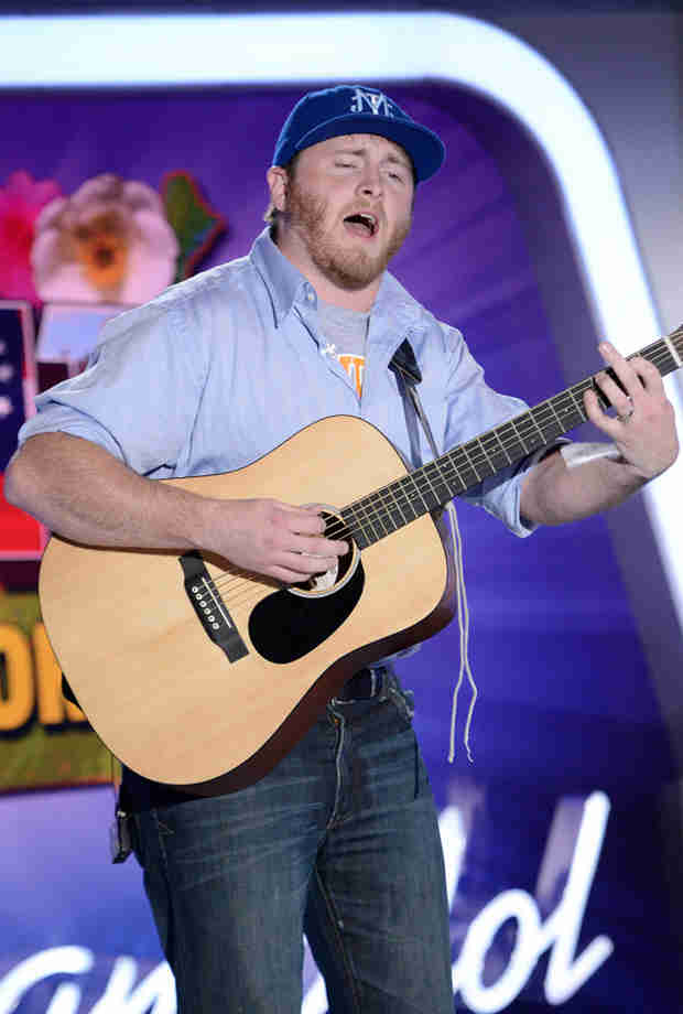 "Watch Ben Briley Sing ""Arms Of A Woman"" in American Idol 2014, Atlanta Auditions"