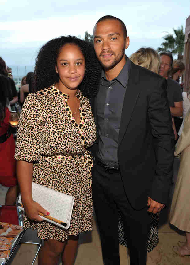 New Parents Jesse Williams and Aryn Drake-Lee Have Glitzy Golden Globes Date Night