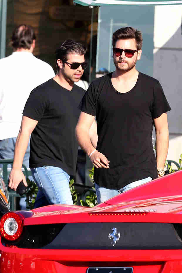 Scott Disick Shows Off Expensive New Wheels After Lunching in L.A. (PHOTOS)