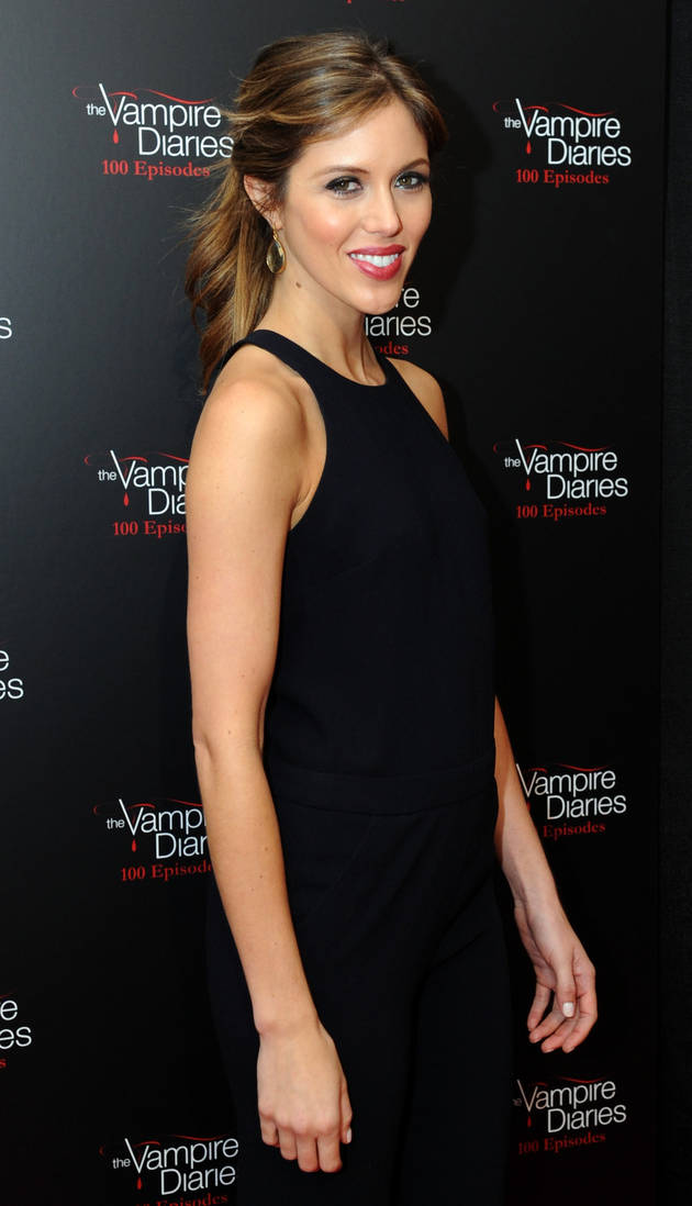 Vampire Diaries' Kayla Ewell Shares Throwback Pic — We Dare You Not to Cry! (PHOTO)