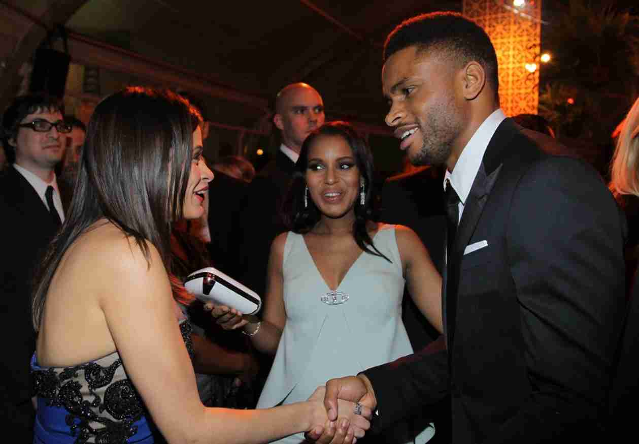 Kerry Washington and Hubby Nnamdi Asomugha Photographed Together For the First Time Since Marriage! (PHOTO)