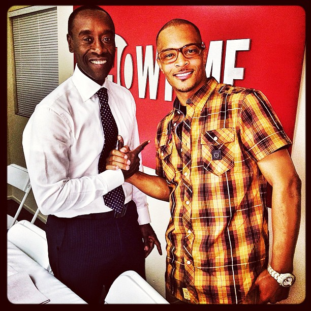 T.I. Gears Up For His Guest-Starring Role on House of Lies (PHOTO)