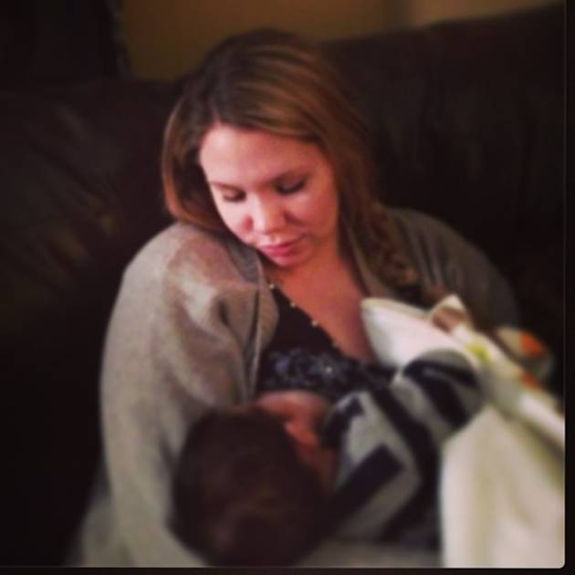 Kailyn Lowry's Baby Lincoln Looks Just Like Isaac at 6 Weeks Old (PHOTO)