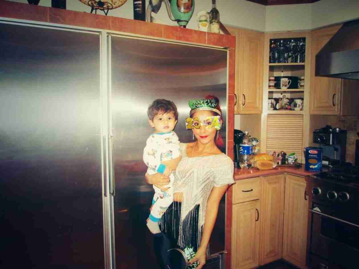 Snooki Spends New Year's With Her Son Lorenzo: See the Cute Pics!