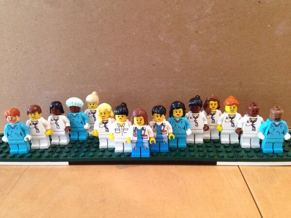 Grey's Anatomy Medical Researcher Recreates Cast in Lego Form