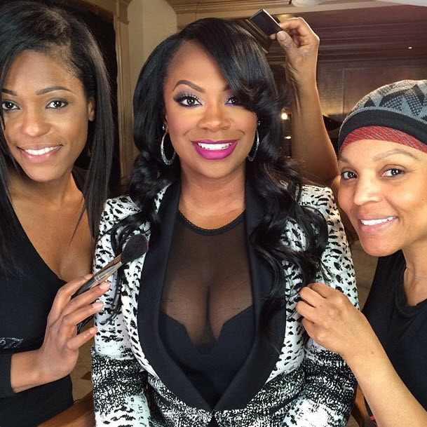 Kandi Burruss Shows Major Cleavage in New Photo!