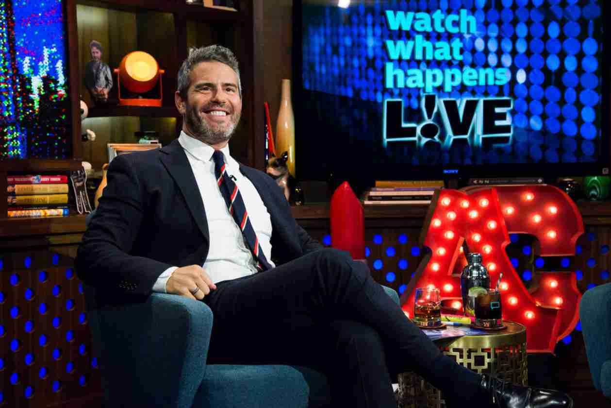 Andy Cohen Debuts Salt and Pepper Beard on Watch What Happens Live — Hot or Not?