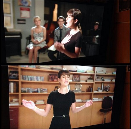 Glee 100th Episode Spoiler: First Look at Rachel's Song (PHOTOS)