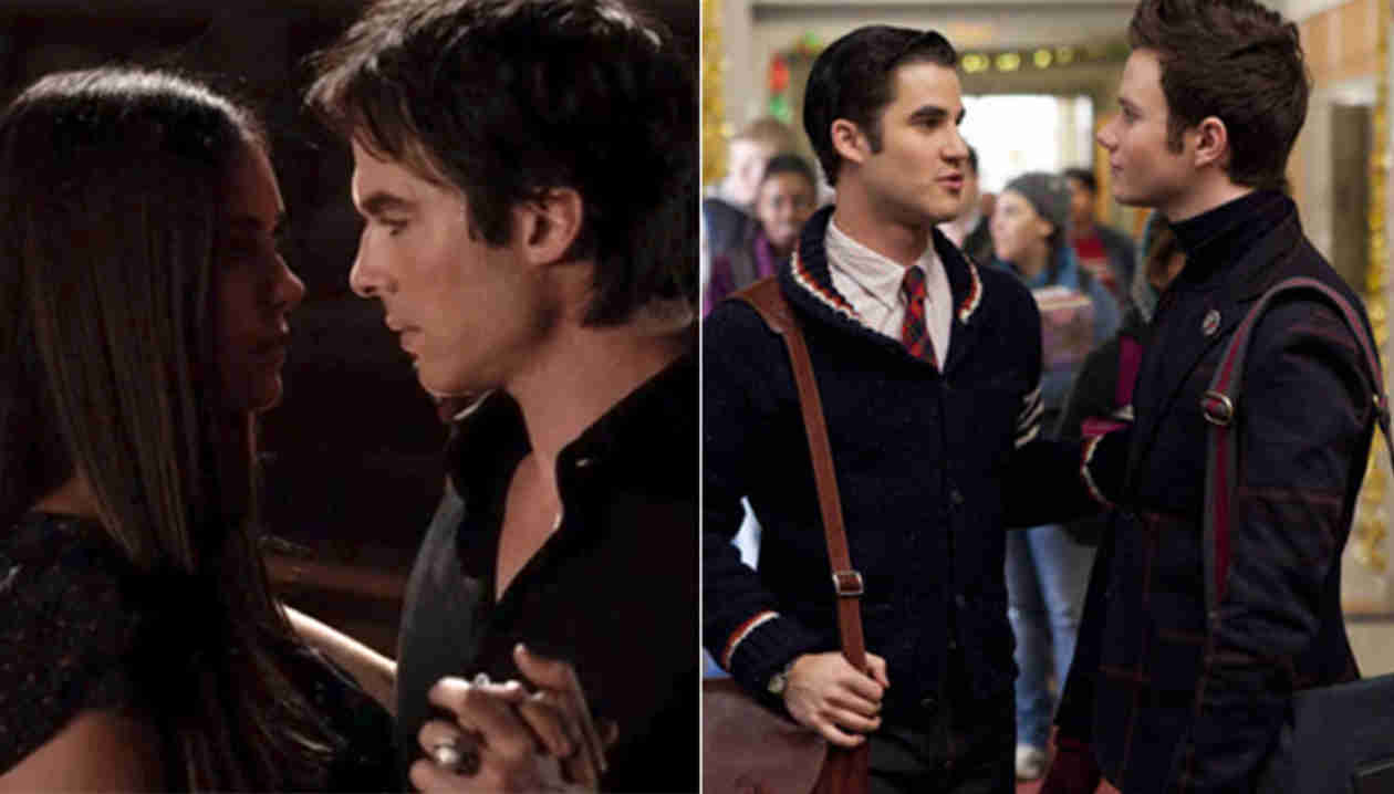 Which TV Couple Has More Chemistry: Vampire Diaries' Delena Or Glee's Klaine?