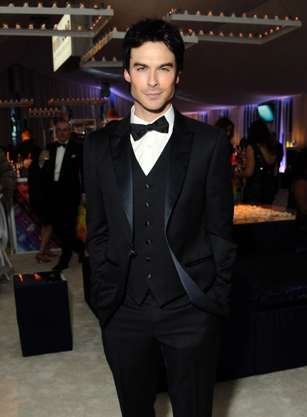 Does Vampire Diaries Star Ian Somerhalder Think He's an Attractive Dude?