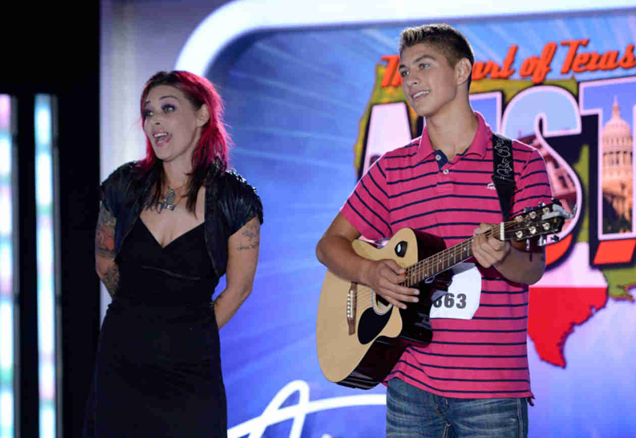 "Watch Nikki McKibbin's Son Tristen Langley Sing ""Santeria"" in American Idol 2014, Austin Auditions (VIDEO)"