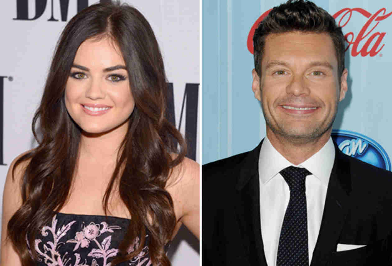 Lucy Hale and Ryan Seacrest Looked Very Different in 2003 (PHOTO)