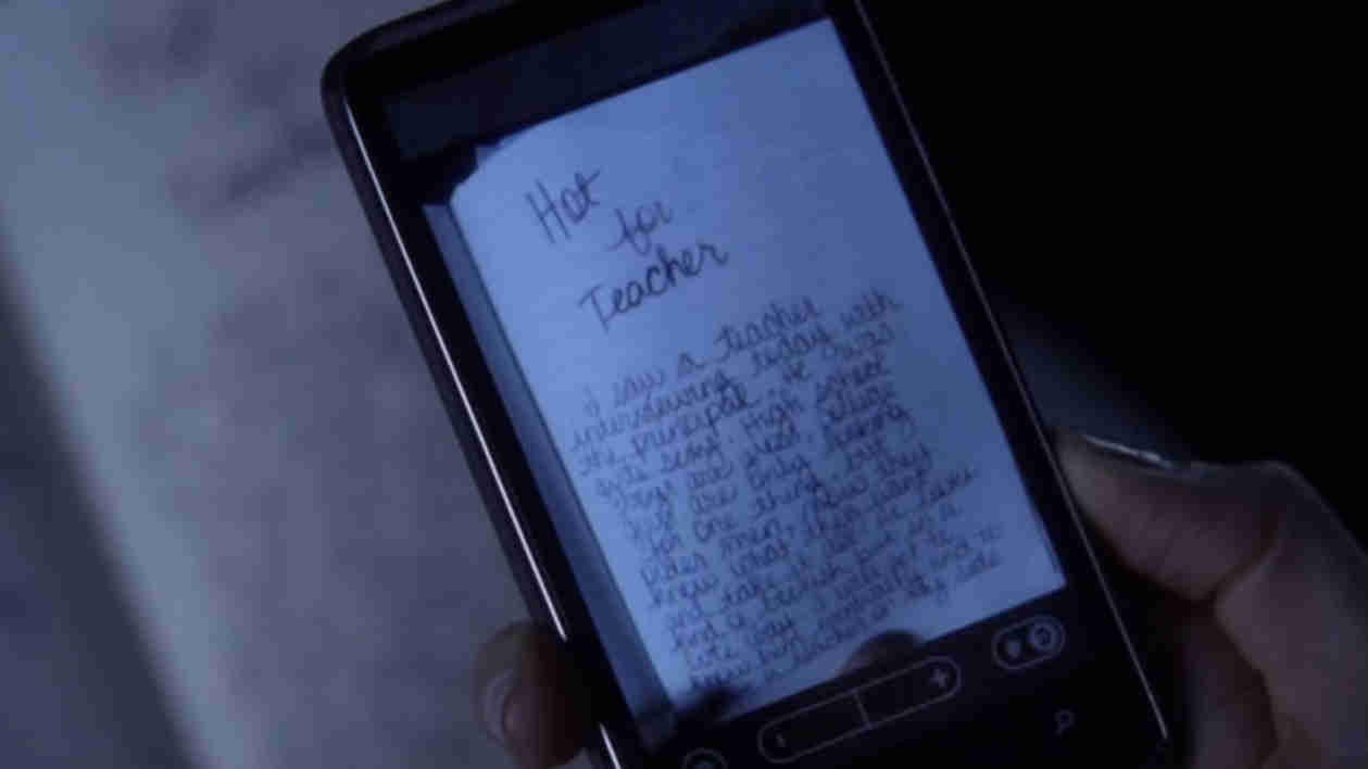 """Pretty Little Liars: What Does the """"Hot For Teacher"""" Page in Ali's Diary Say?"""