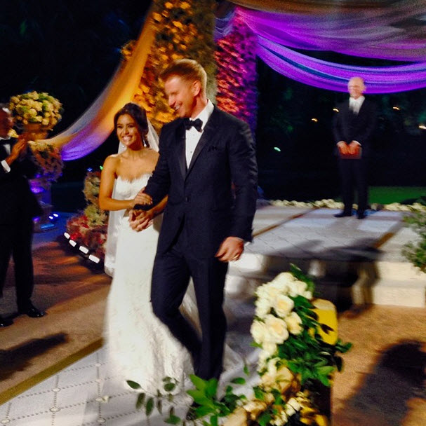 "Sean Lowe and Catherine Giudici Wedding Vows: ""My Heart Fills With Love Sprinkles"""