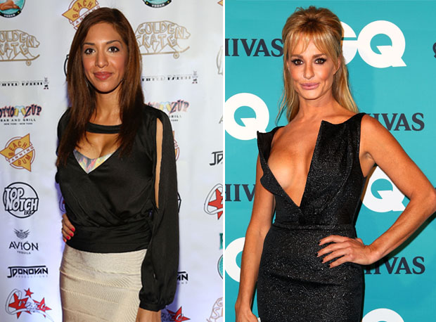 "Farrah Abraham Fires Back at Taylor Armstrong: ""Keep My Name Out of Your Mouth"" (VIDEOS)"