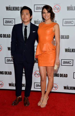 Are Lauren Cohan and Steven Yeun Dating? The Walking Dead Actress Says…