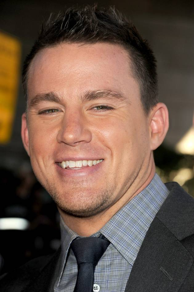 "Channing Tatum Says He's ""Fappy"" — Fat and Happy — During Acting Break"
