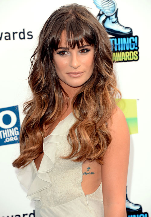 Lea Michele Got Tattoos With THESE Glee Co-stars!