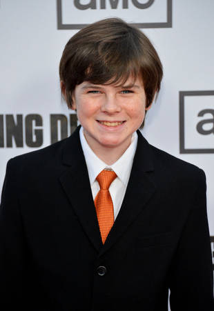 How Old Was Chandler Riggs When He Was Cast on The Walking Dead?
