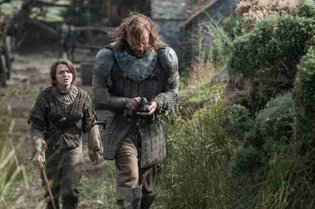 Game of Thrones Season 4 Spoilers: What Is Arya and The Hound's Relationship?