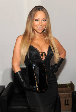 Mariah Carey Flaunts Major Cleavage in Super Tight Dress For BET Honors Performance: See the Look! (PHOTO)