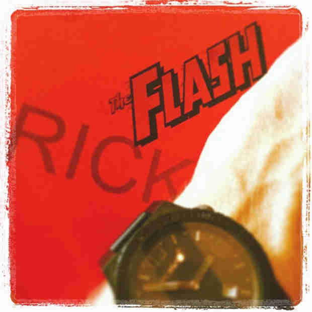 Rick Cosnett Teases Filming For The Flash Pilot — Get Ready For Eddie Thawne! (PHOTO)