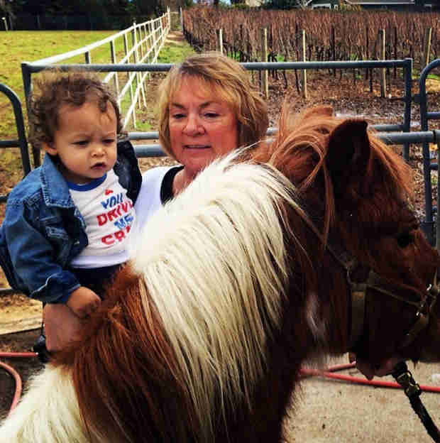 Tamera Mowry's Son, Aden, Gets a Pony — He's 15 Months Old!